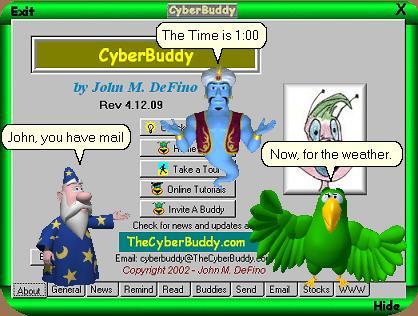 CyberBuddy full screenshot